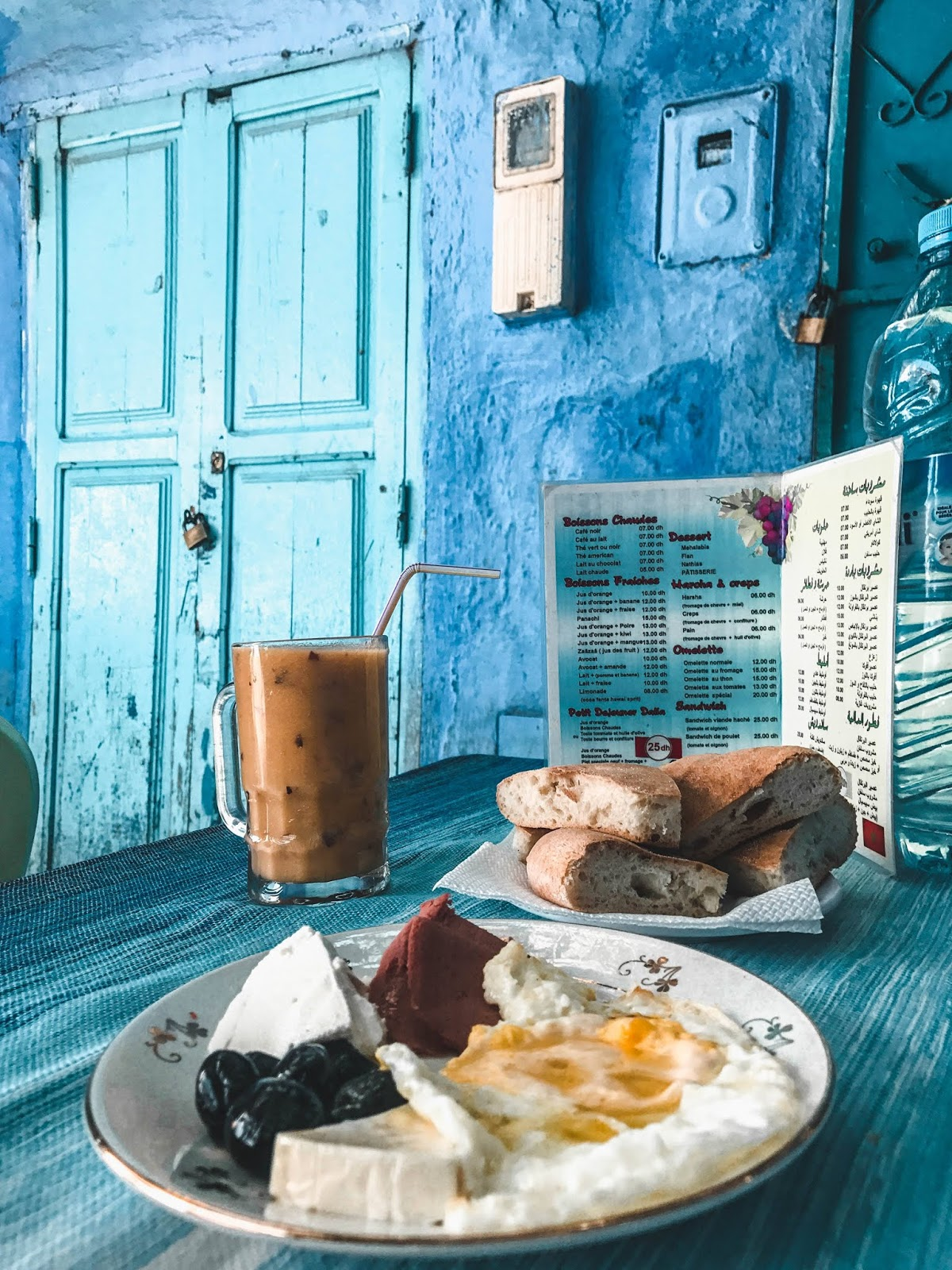 Chefchaouen Morocco Breakfast
