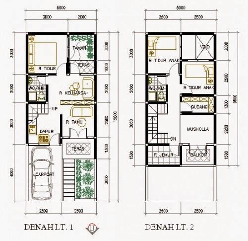 Desain Rumah trendi miimalis berlantai 2 2020