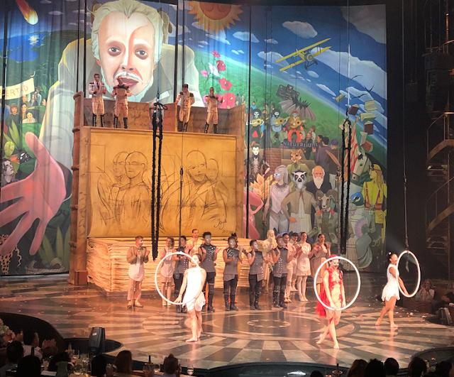 Cirque du Soleil, la Joya de la Riviera Maya