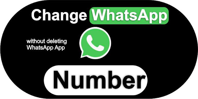 How to WhatsApp number without deleting