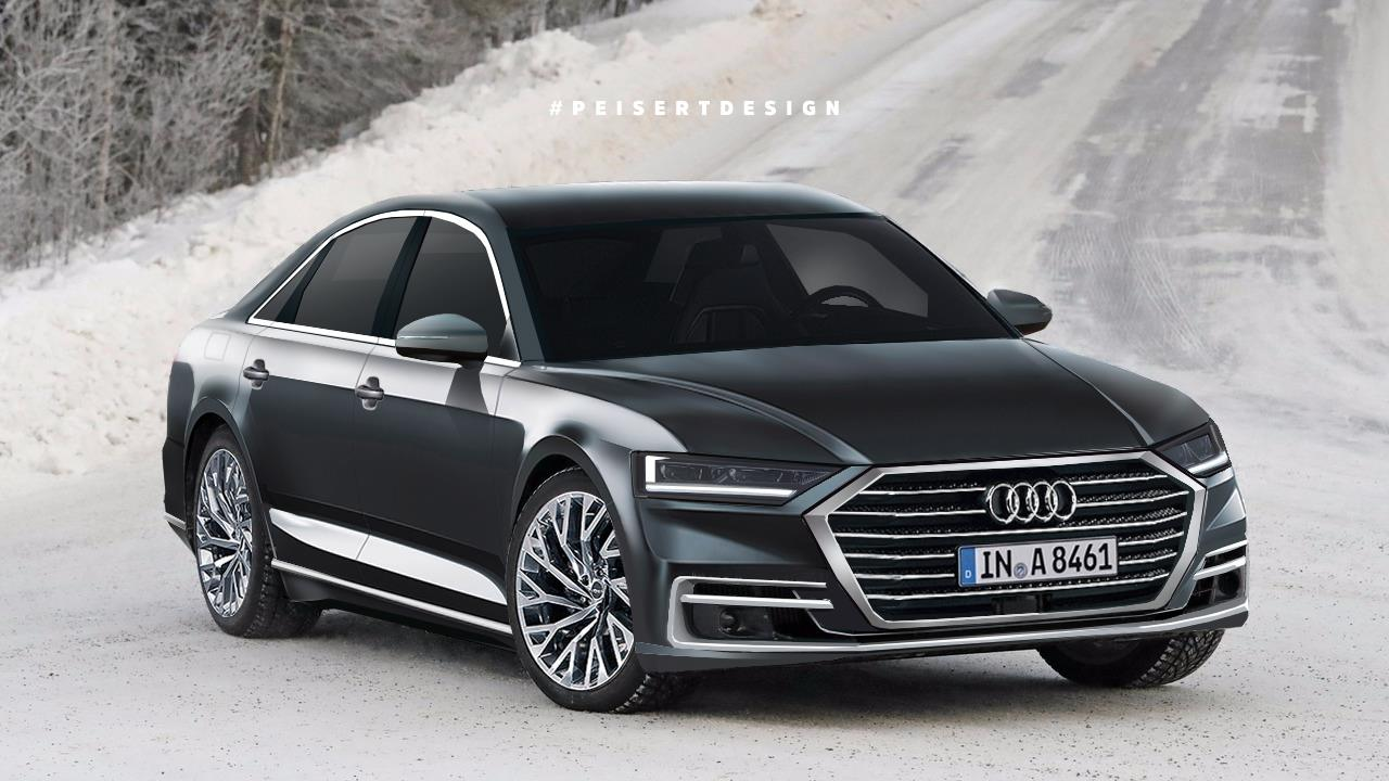 Audi audi a8 : 2018 Audi A8: Here's A Good Idea Of What It Will Look Like | Carscoops