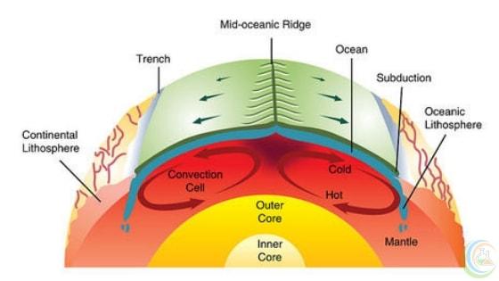 Tectonics plate