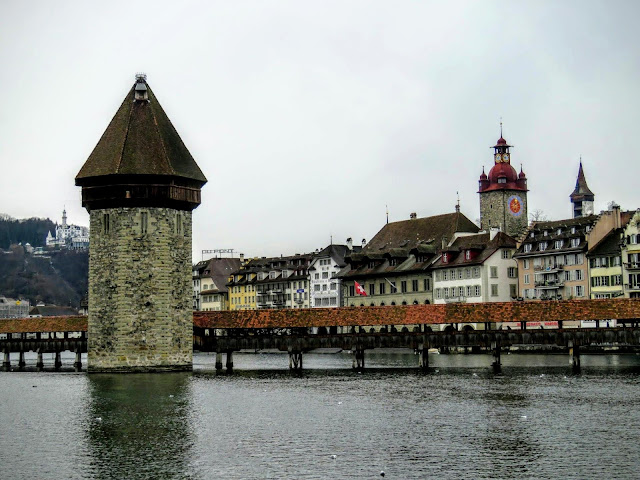 Things to do near Zurich in winter: spend the weekend in Lucerne Switzerland