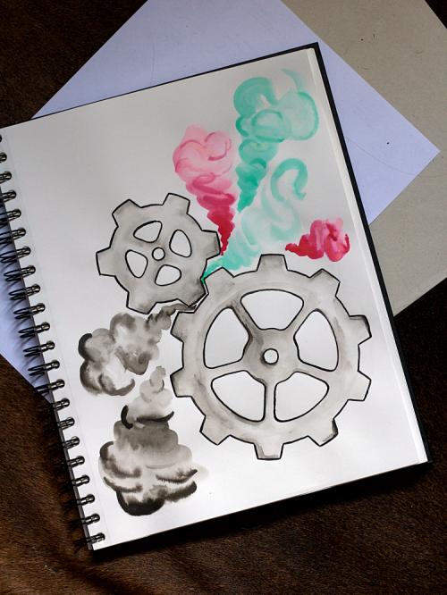 Steampunk Inspiration | Inktober | www.zeitunschaerfe.de