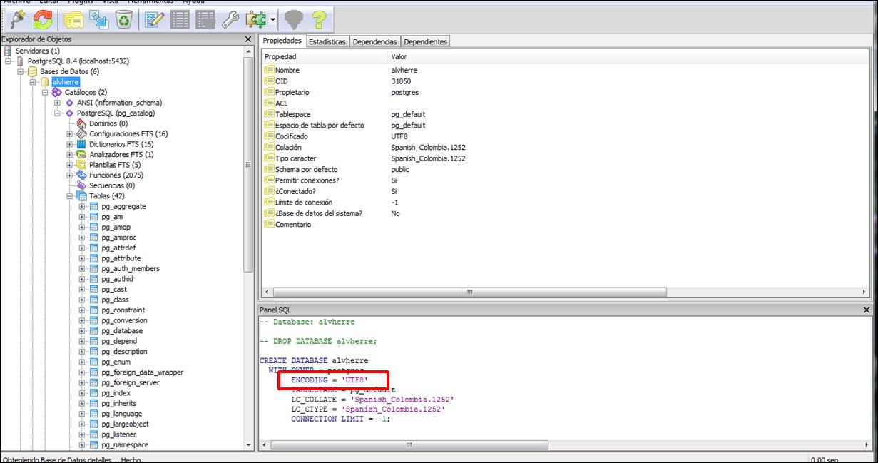 Como cambiar el nombre a una base de datos en postgresql