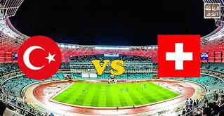 نتائج المباراة بين منتخبين سويسرا و تركيا  ( يورو 2020 ) ... 20/6/2021