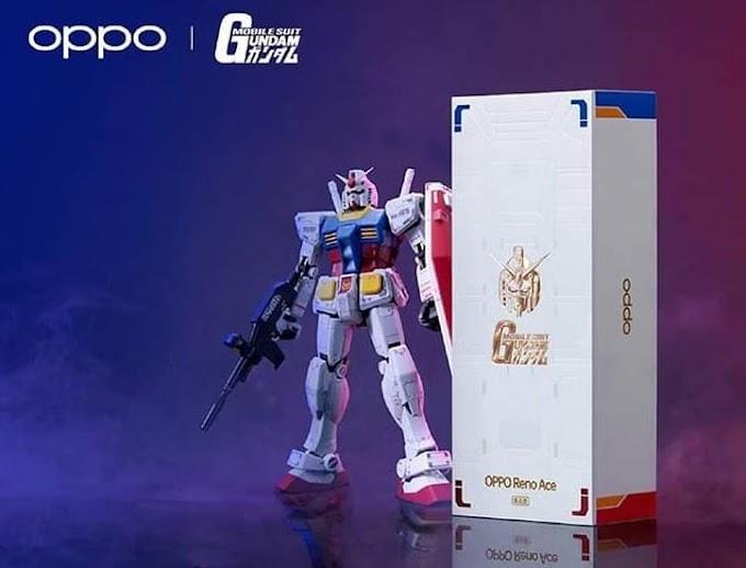 Oppo Mengeluarkan Smartphone Gaming Gundam Edition yang Keren Abis
