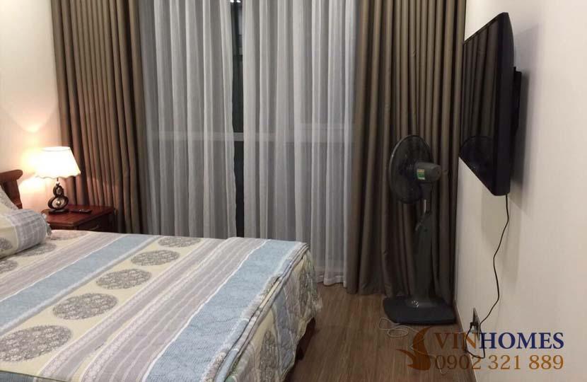 Cho thuê 2 phòng ngủ tầng cao tòa nhà P7 khu Vinhomes Central Park - hinh 3