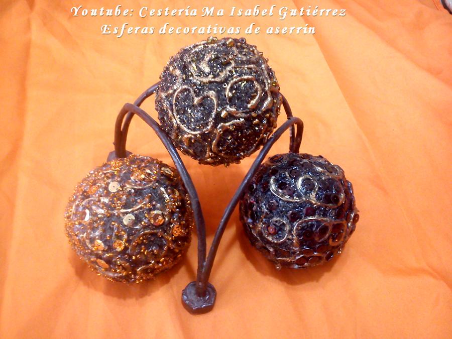 esferas con masa de aserrin Slide2