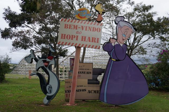 Como é o parque de diversões Hopi Hari em São Paulo
