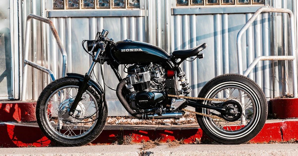 CM400 Retro-Rebuild | Inazuma café racer