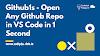 Turn your Github Repo into VSCode Editor   Github1s