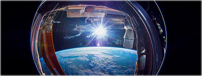 Vídeo timelapse da Terra vista do espaço