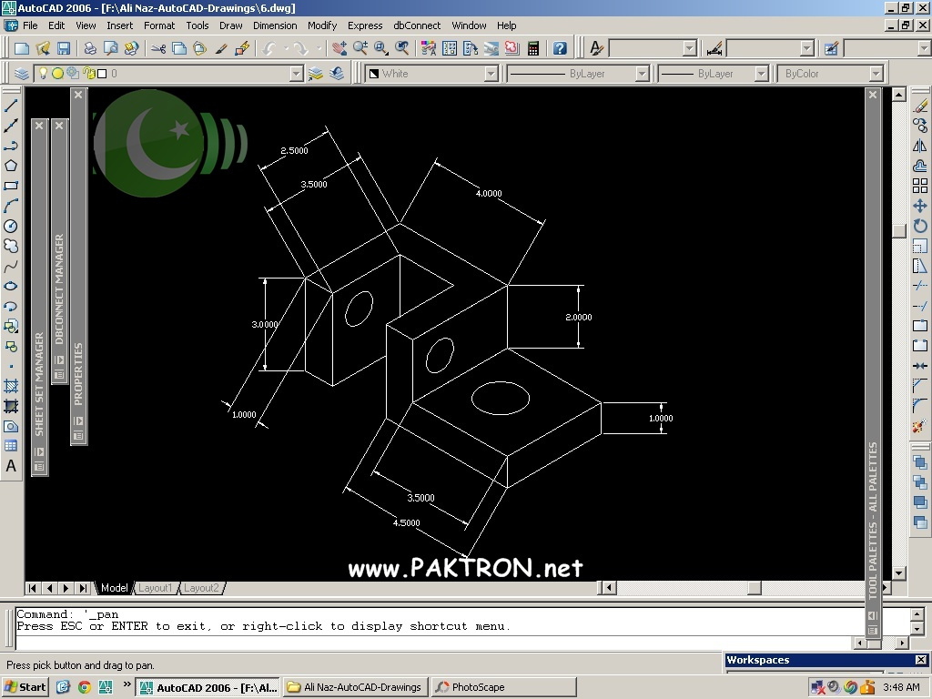 Autocad Engineering Drawings For Students Of 1st Smester