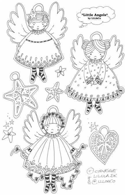 *LLL og Co.*: Little Angels Tags