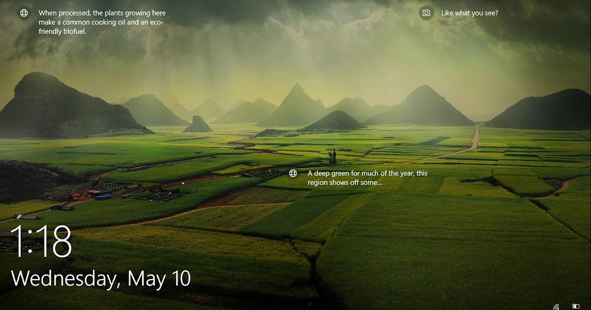 Windows 10 lock screen nature wallpapers - 2 screen wallpaper nature ...