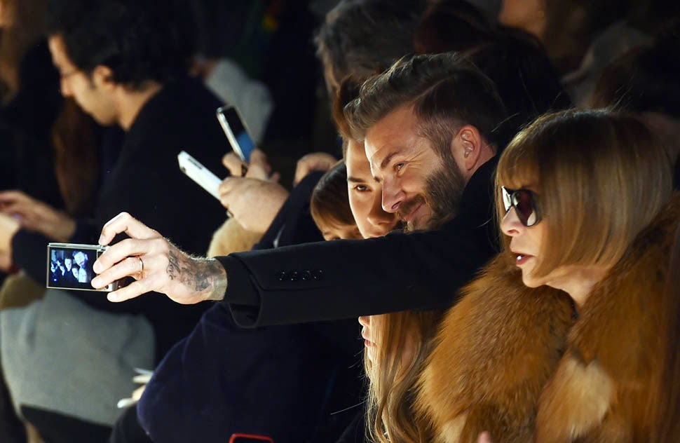 Beckhame-With-Family-At-NYFW