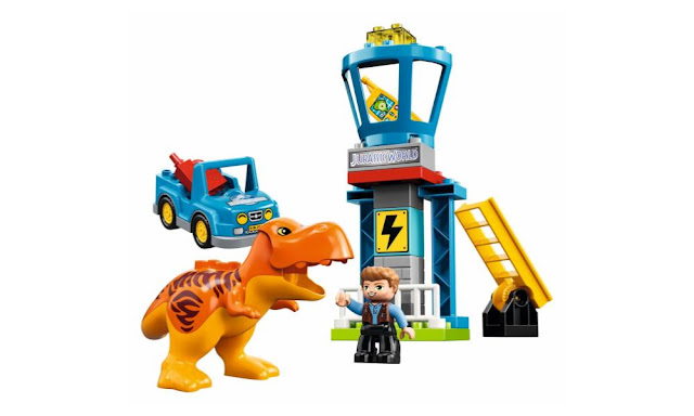 10880 – LEGO DUPLO T-Rex Tower – $29.99 | 22 pieces | Ages 2+