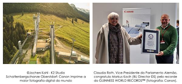 Novo recorde do Guiness: Canon imprime a mais longa fotografia digital do mundo