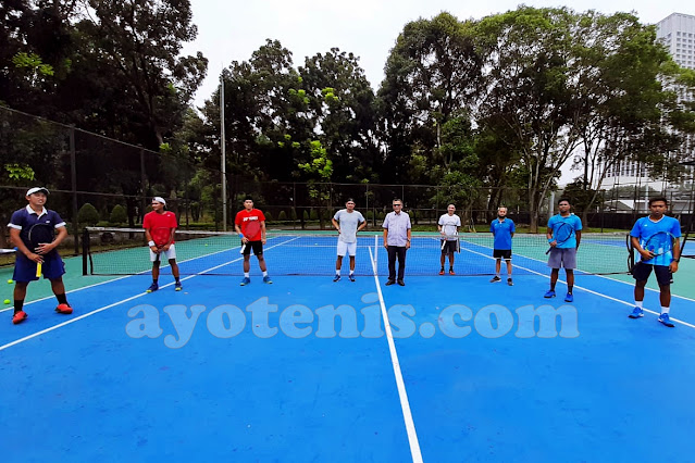 Atlet Tenis Putra Peserta Latihan Bersama Sudah Berkumpul di Jakarta. Ini yang Mereka Lalukan...