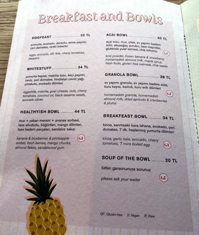healthyish bowl healthyish cafe seyma subasi ilicali bebek istanbul menu fiyatlari