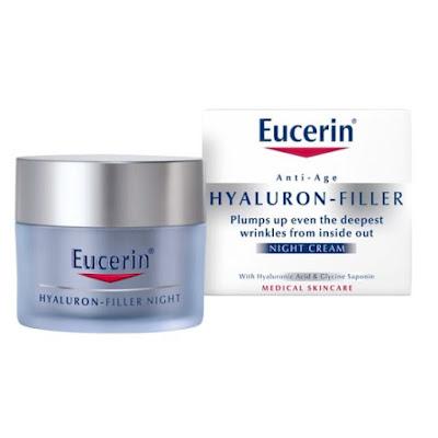 Krim malam Eucerin - Hyaluron Filler Night Cream