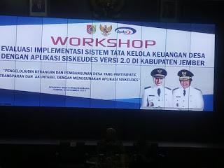 Bupati Faida Buka Workshop Siskeudes