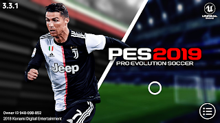 PES 2019 Mobile V3.3.1 New Kits,Graphics Patch Android