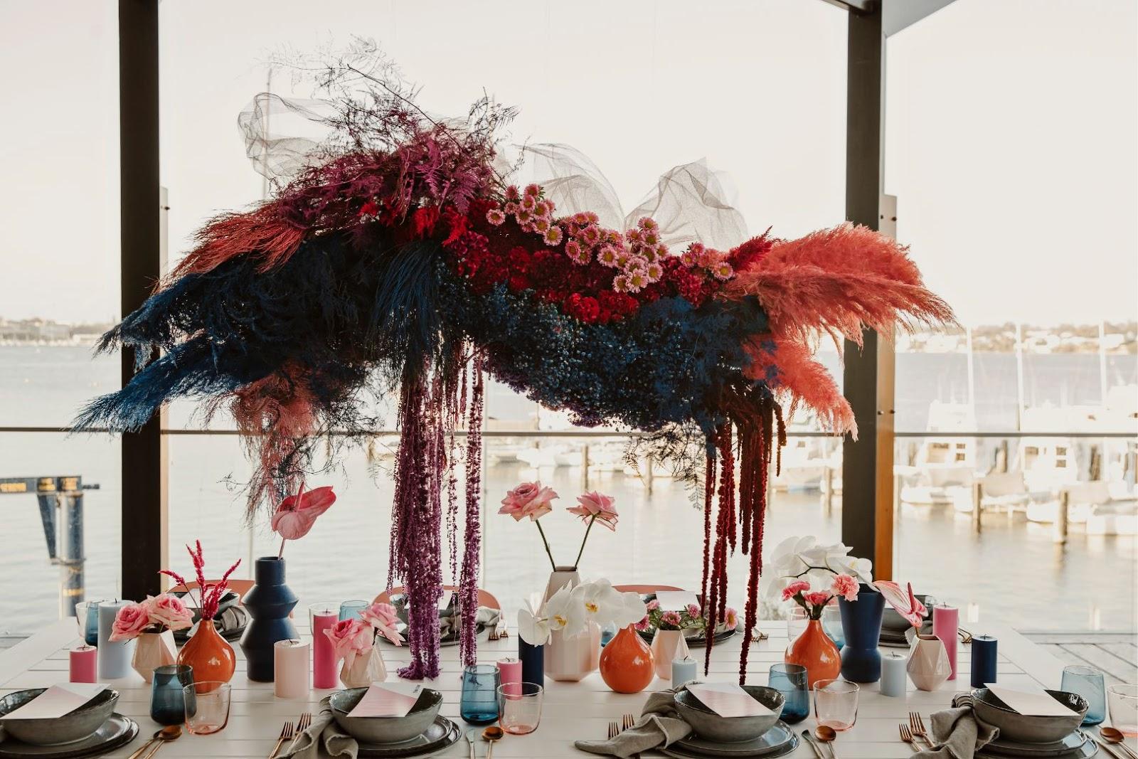 WEDDING FLORALS PERTH FLOWERS INSTALLATION CHRISTINE LIMM