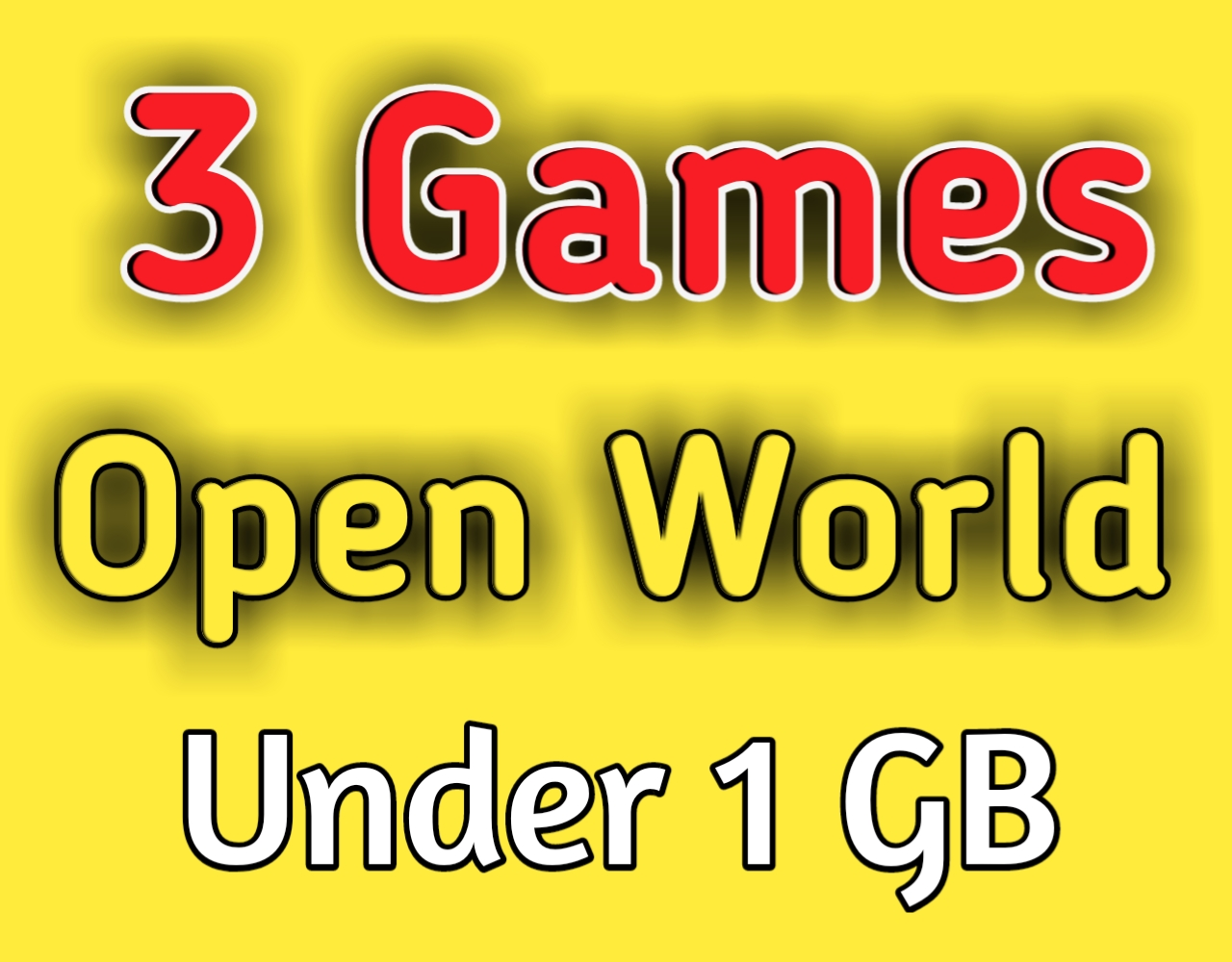 best open world games for android 2020