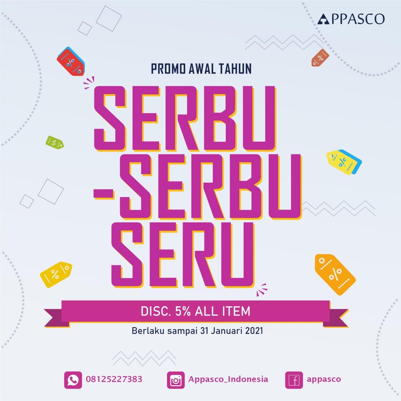 Promo Awal Tahun 2021 APPASCO