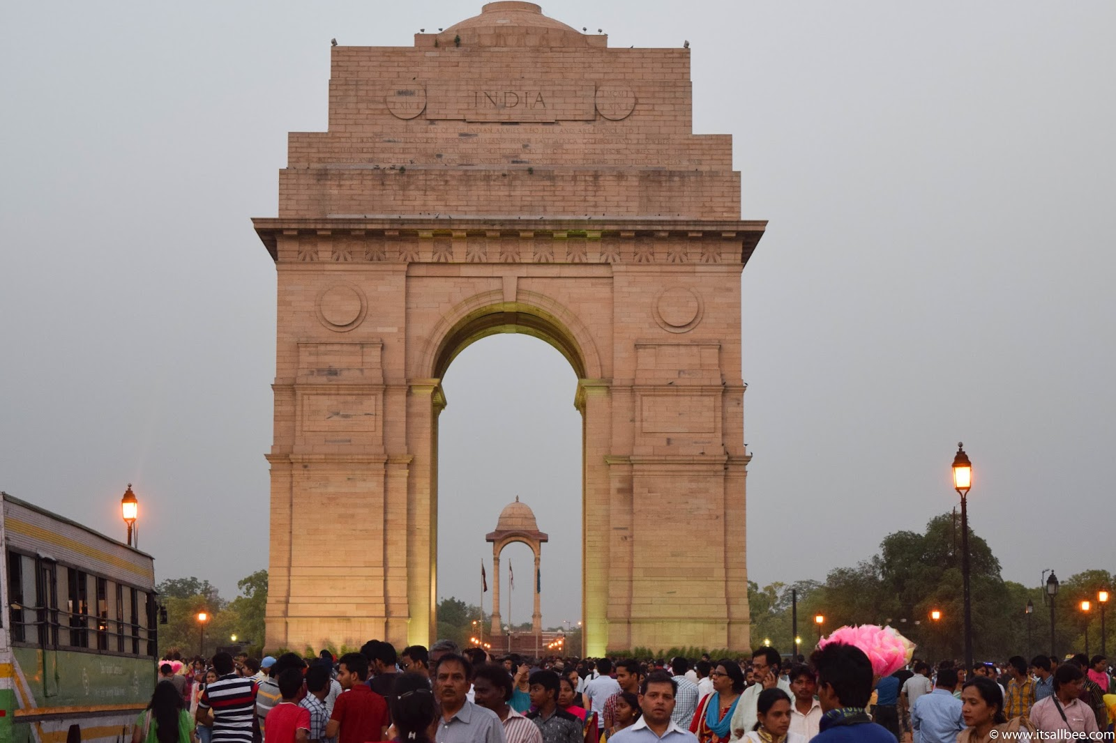 India - places to visit in New Delhi - India Gate