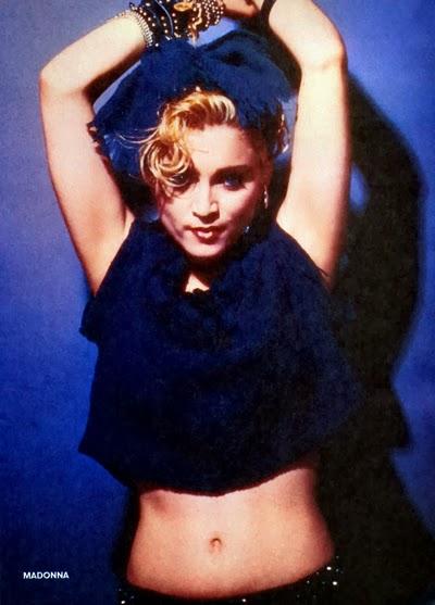 Madonna : On The Cover Of A Magazine OTCOAM Rare Madonna