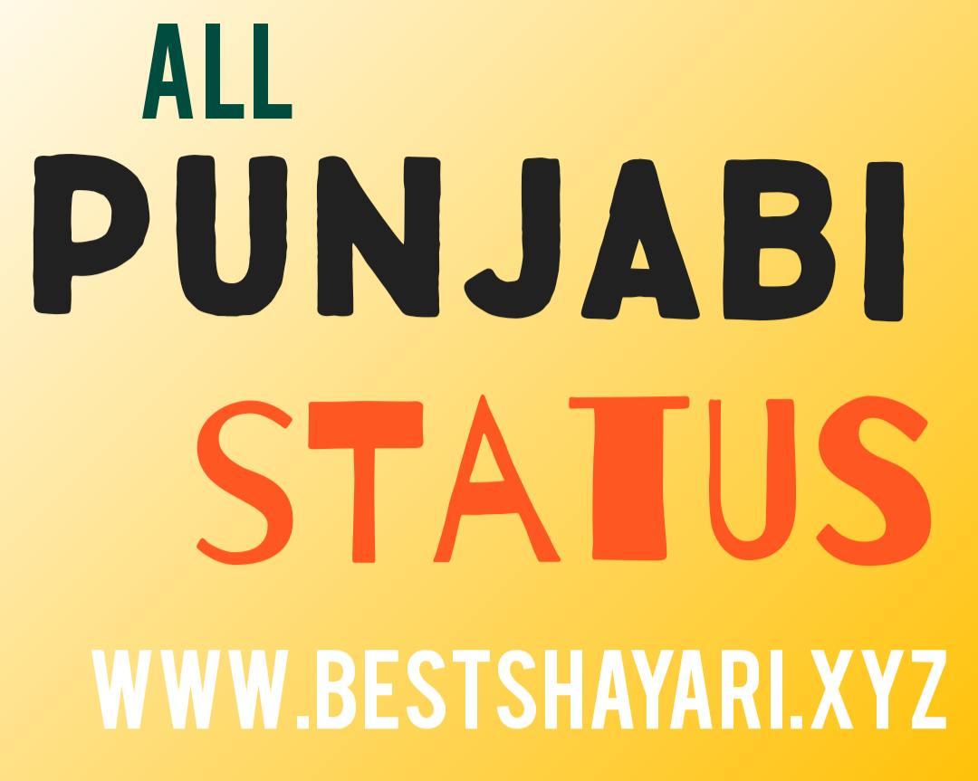 Punjabi status in english