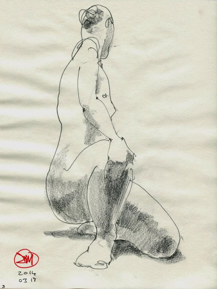 Female nude by David Meldrum