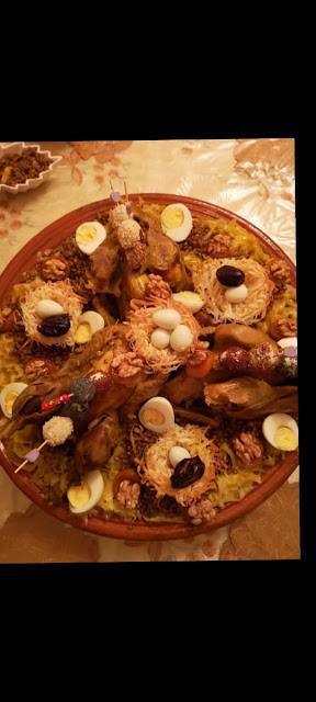 طريقة تحضير الرفيسة(التّريد) المغربية للمناسبات