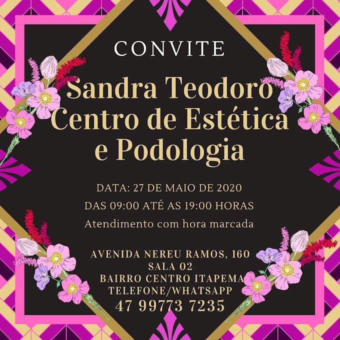 Sandra Teodoro salão de beleza no Centro de Itapema