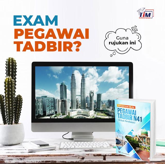 Contoh Soalan Peperiksaan Online PSEE Pegawai Tadbir (Rekod Perubatan) Gred N41