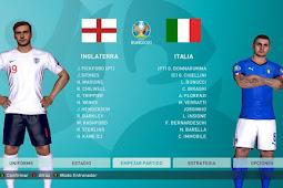 Euro 2020 Match Menu - PES 2017