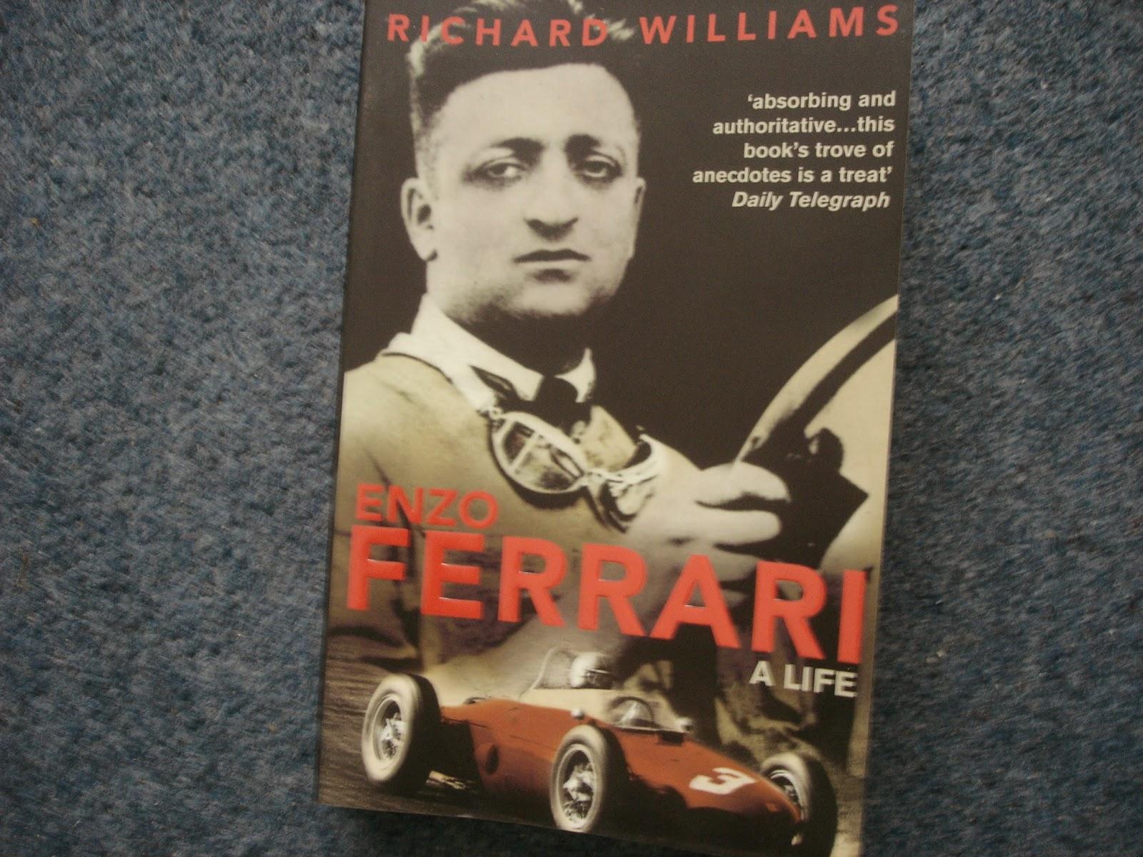 What Glenn Thinks Enzo Ferrari A Life Richard Williams Book Review