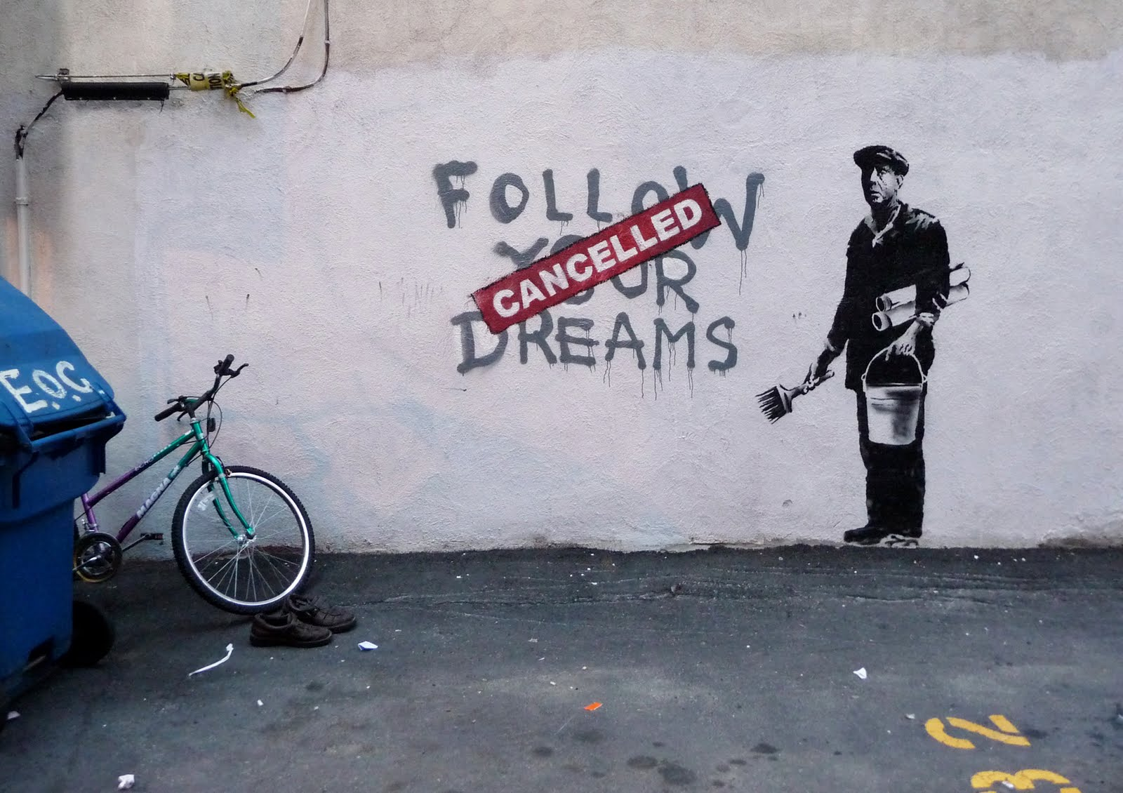 Coolest Banksy Graffiti Bellisima