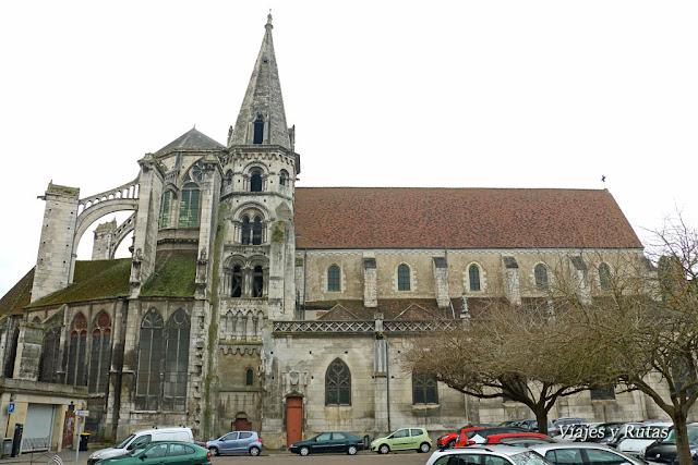Iglesia de Saint-Eusèbe, Auxerre
