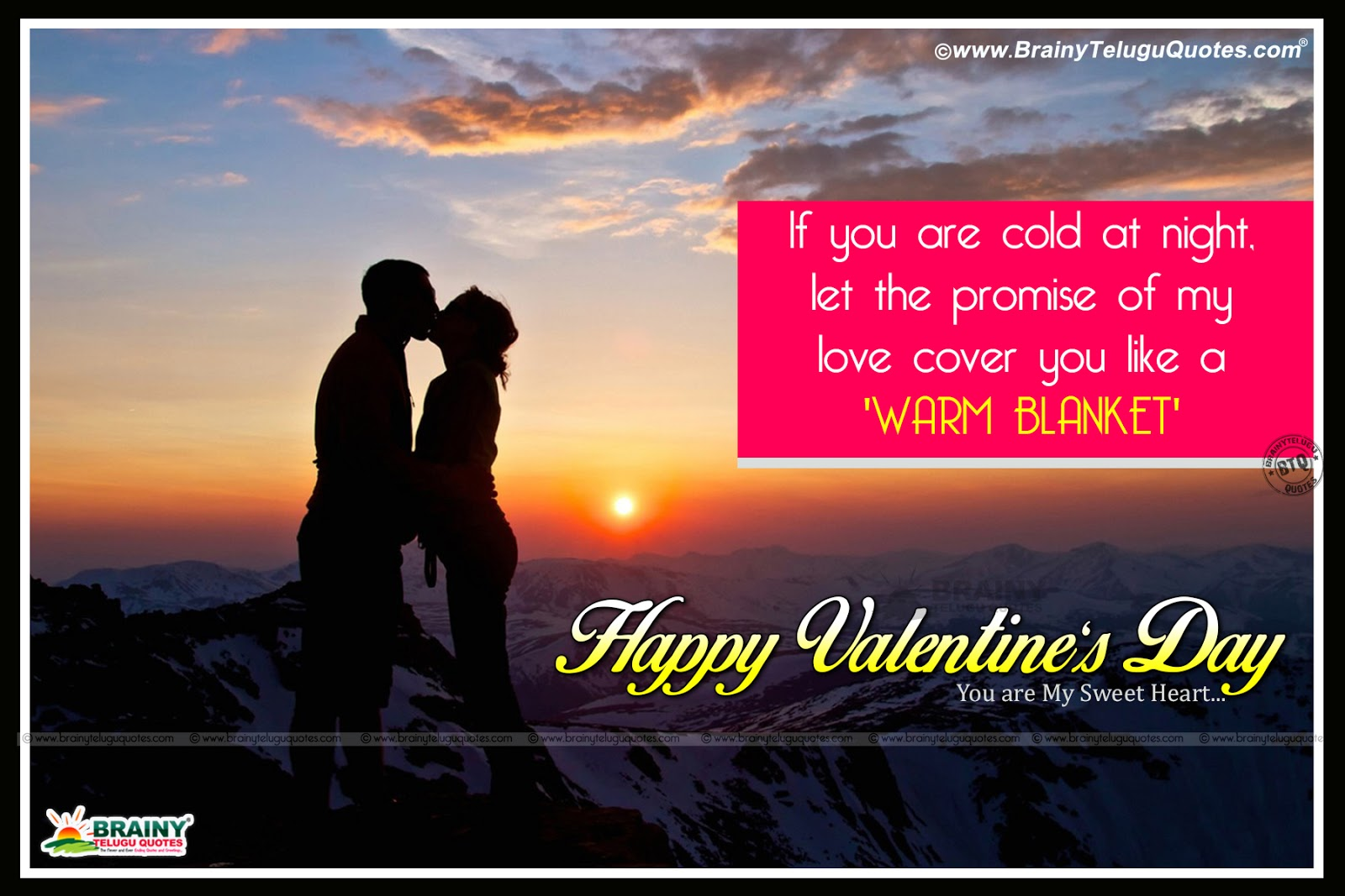 One Hundred Wallpaper Happy Valentines Day Hd Telugu Quotes On Dog