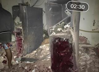 Bandidos invadem cidade da Paraíba e explodem agência bancária