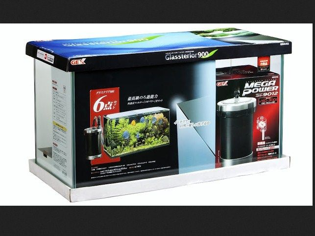Harga Aquarium Gex Glassterior Slim 900