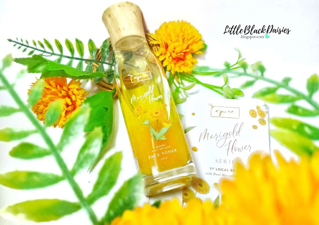 N'PURE MARIGOLD FLOWER FACE TONER REVIEW