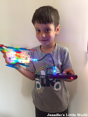 Laser Pegs construction kit review