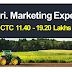 Agriculture Marketing Expert | CTC 11.40-19.20 Lakhs/Year