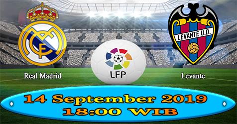 Prediksi Bola855 Real Madrid vs Levante 14 September 2019