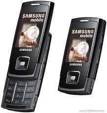spesifikasi hape Samsung SGH-E900